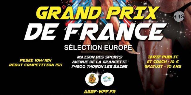 GP de France 2018 Sélection Europe