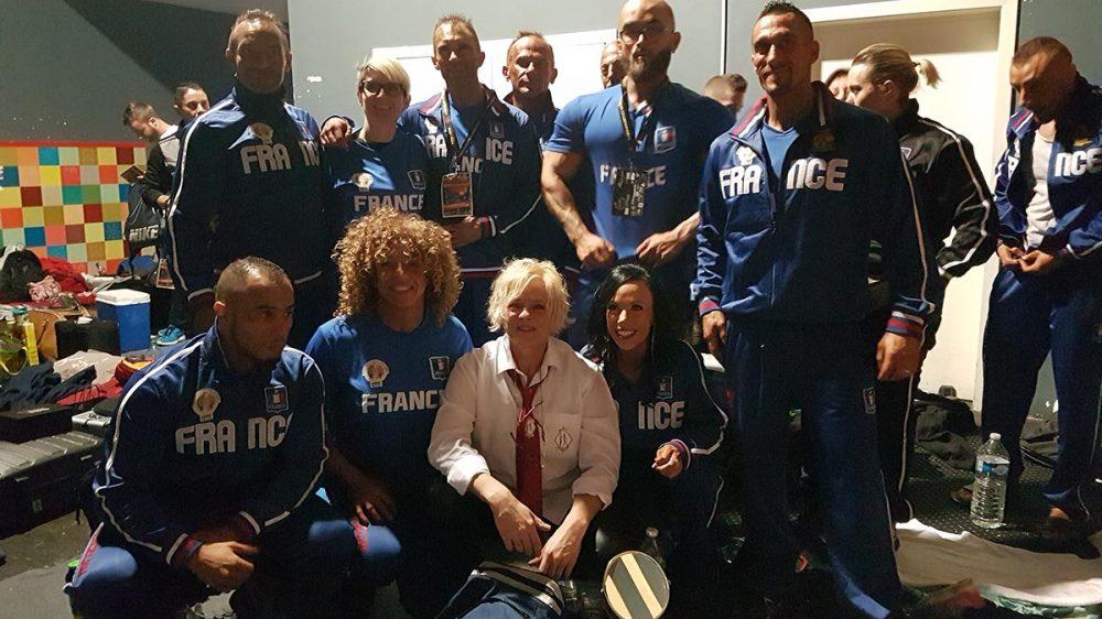 L'équipe de France Univers 2018