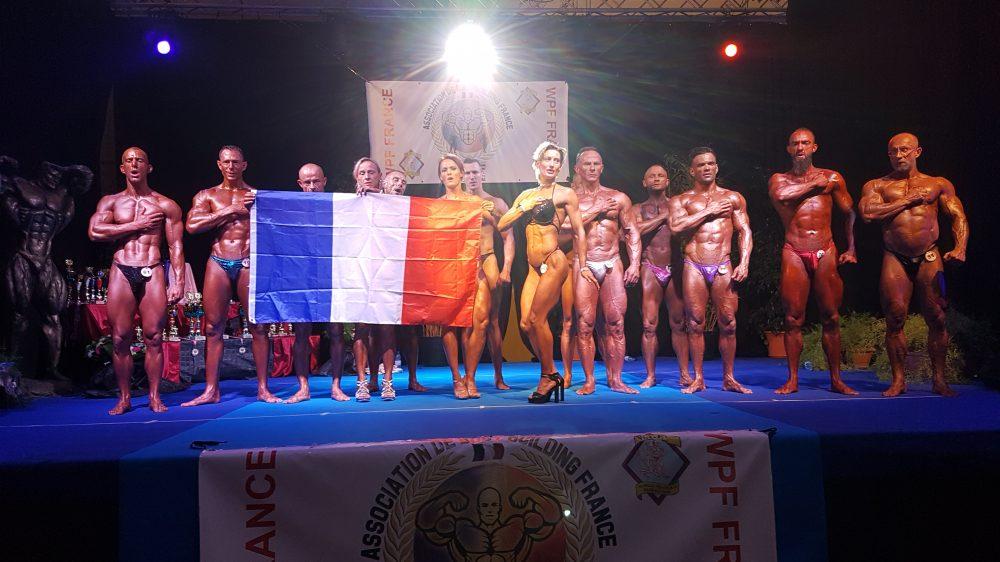 L'équipe de France Univers 2017